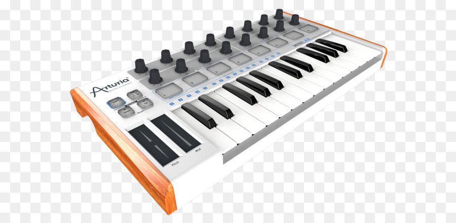 Digital Piano Musical Instrument png download - 650*437 - Free