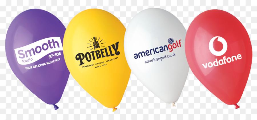 Logo latex balloons