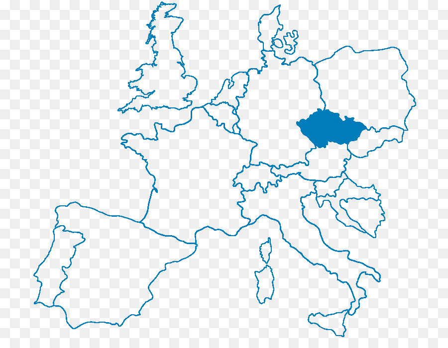 Europe Blank map Coloring book World map - map png download - 870 ...