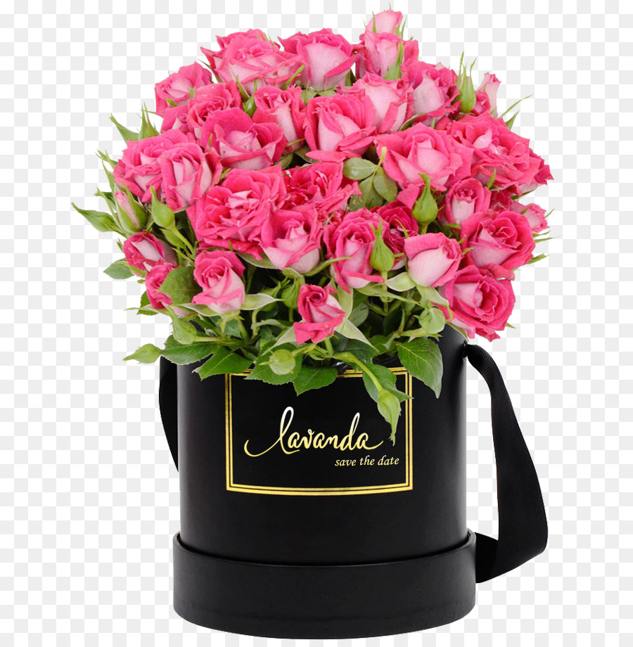 Flower Box Gift Flowers Singapore Box Png Download 700910