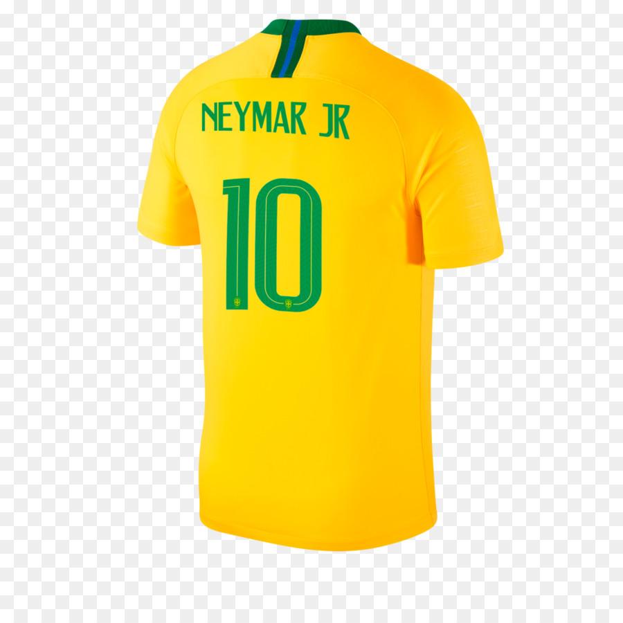 e744ca921 Brazil national football team T-shirt 2018 World Cup Sports Fan Jersey - T- shirt png download - 1024 1024 - Free Transparent Brazil National Football  Team ...