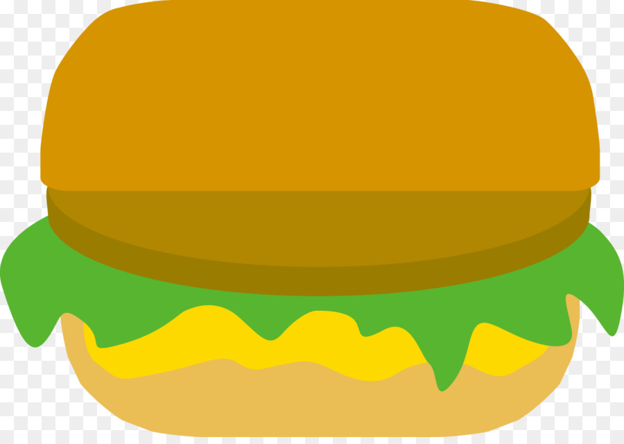 Hamburger Makanan Ilustrasi Png Lain Lain Unduh Kuning Hijau