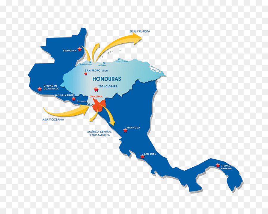 Central America Caribbean World map Vector graphics - map png ...