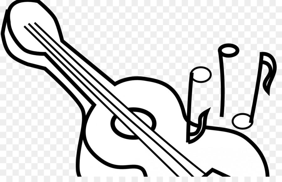 Clip art Coloring book Electric guitar Acoustic guitar - electric ...
