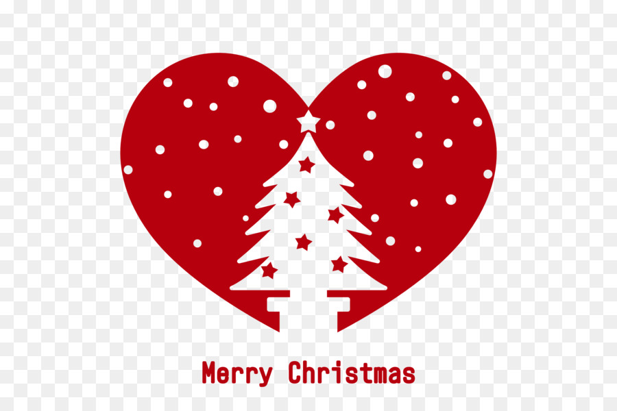 Merry Christmas - Heart with Christmas Tree.png - others png ...