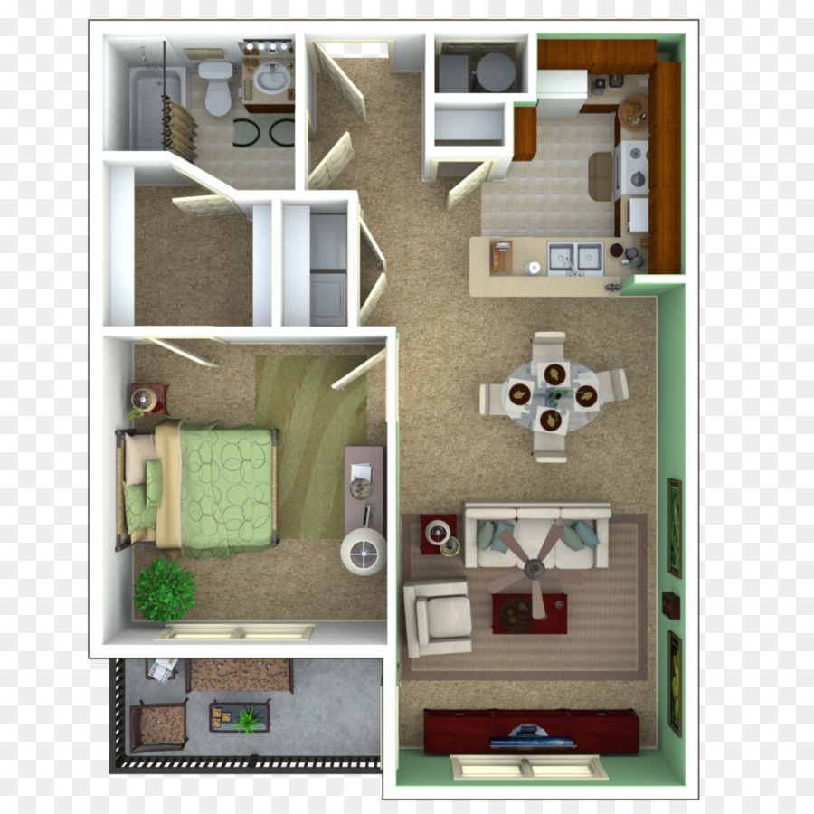 Plan De Maison Les Meubles De L Appartement De Chambre A Coucher