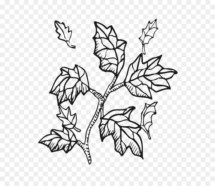 Libro para colorear de la Ramita de Clip art Rama de Árbol - Árbol ...