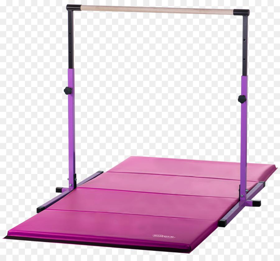 ginástica artística esteira horizontal barra de barras assimétricas
