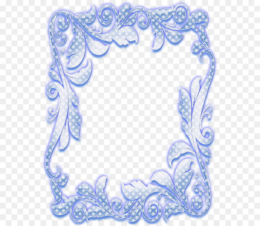 Visual arts Abziehtattoo Picture Frames Organism Blue and white ...