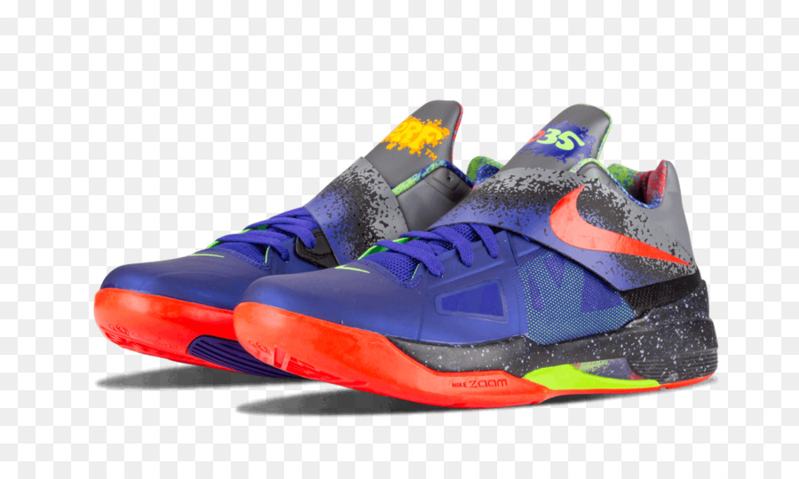 0b766e83a5a Sports shoes Nike Zoom Kd 4 Nerf Shoes Concord    Bright Crimson 517408 400 Nike  Zoom KD line - nike png download - 1000 600 - Free Transparent Sports Shoes  ...