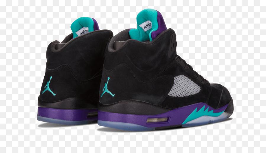 super popular 98635 3d2b9 Air Jordan 5 Retro  Black Grape  Mens Sneakers Sports shoes Nike - nike png  download - 850 510 - Free Transparent Air Jordan png Download.