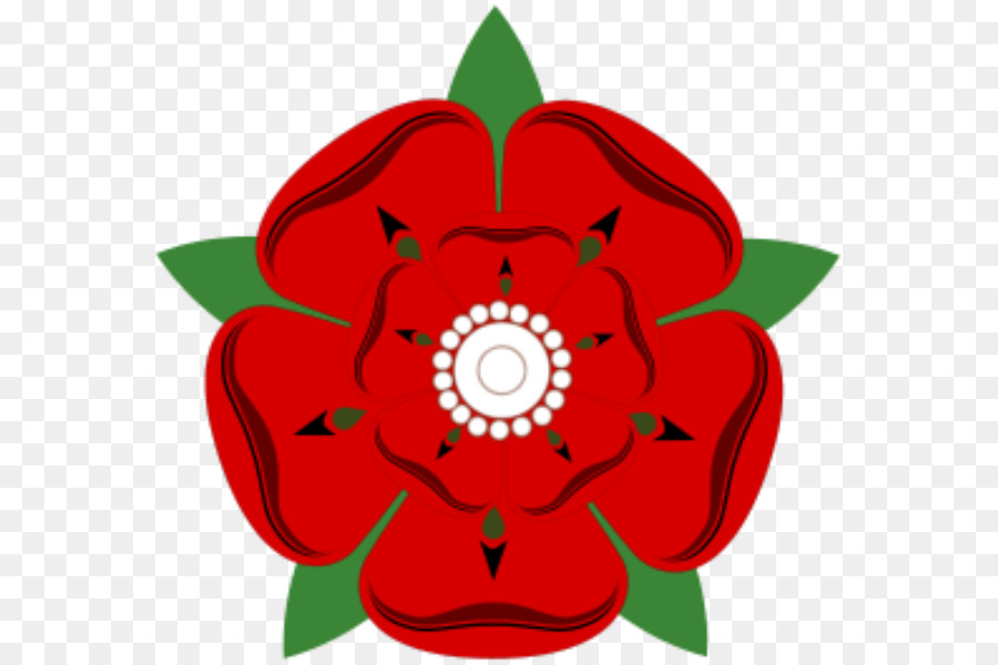 Wars Of The Roses, Red Rose Of Lancaster, House Of Lancaster, Flower, Red PNG