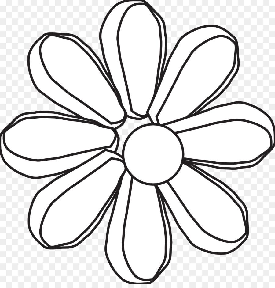 Clip Art Black And White Petal Flower Monochrome Photography Hippy
