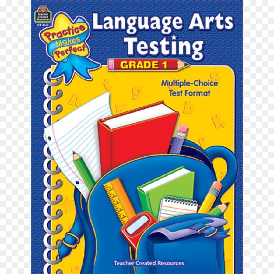 Die erste Klasse Language arts Reading comprehension Test Einstufung ...
