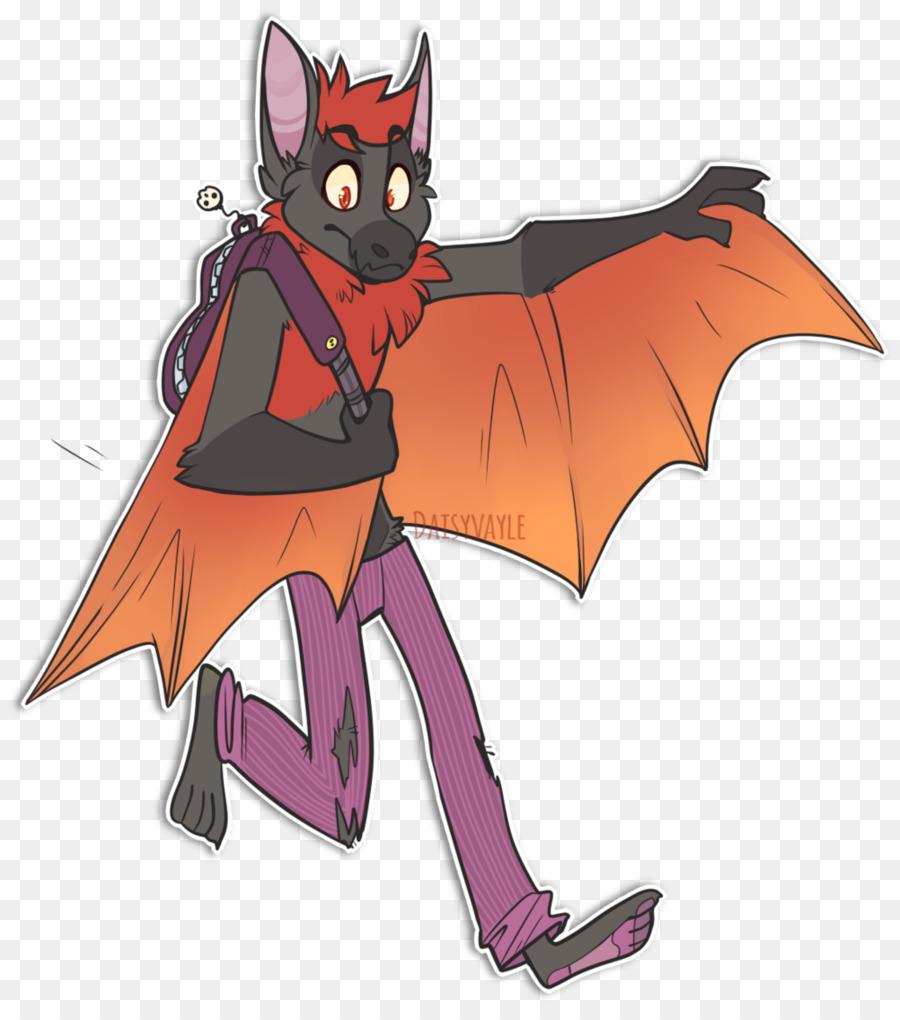 morcego vampiro morcego menino o desenho musical de arte bat