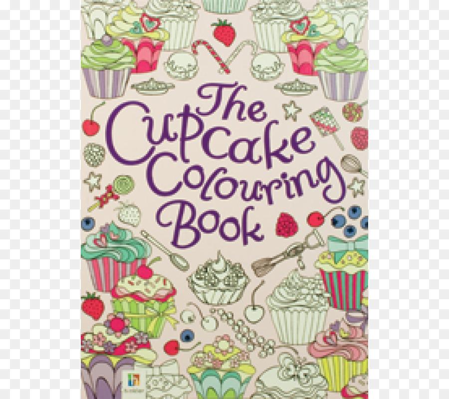 Buku Mewarnai Mewarnai Pola Pola Menyenangkan Cupcake Anak Pesan