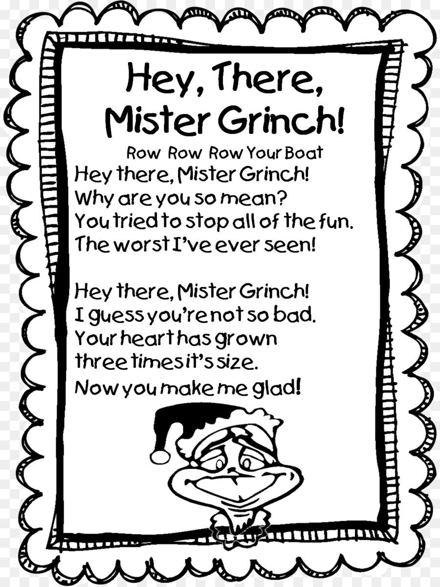 Grinch de la Navidad el Día de la Poesía de Primer grado de Segundo ...