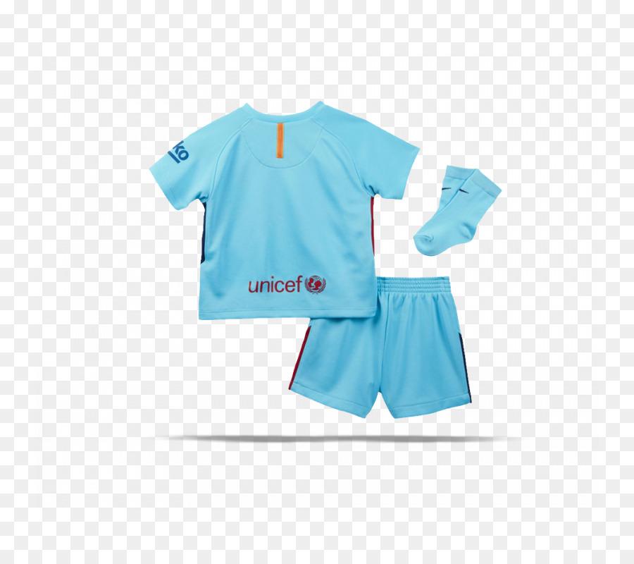 06e57f321 FC Barcelona T-shirt 2017-2018 Barcelona Away Nike Baby Kit Football ...