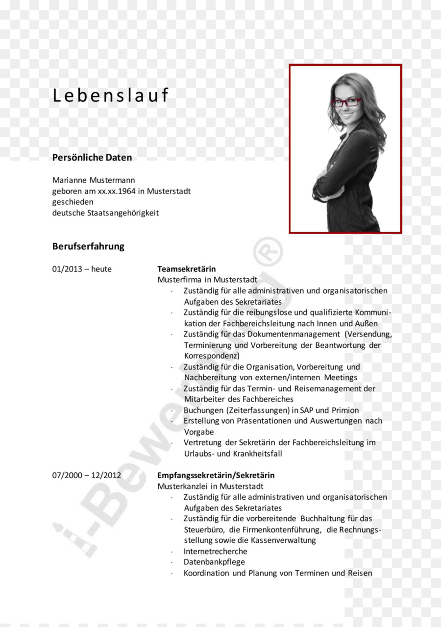 Curriculum Vitae Application For Employment Secretary Resume