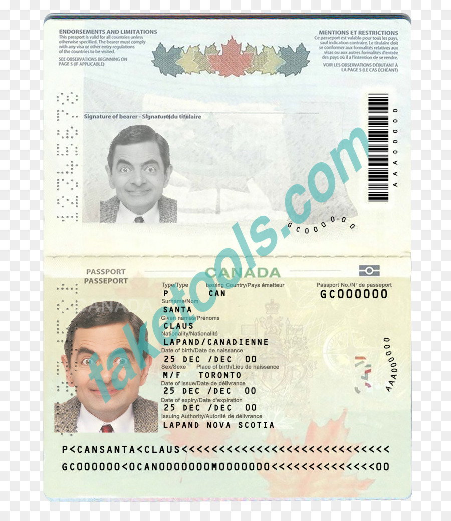 Passport Canadian Transparent 1024 - Download Free 807 Download Document Template Png Canada Identity