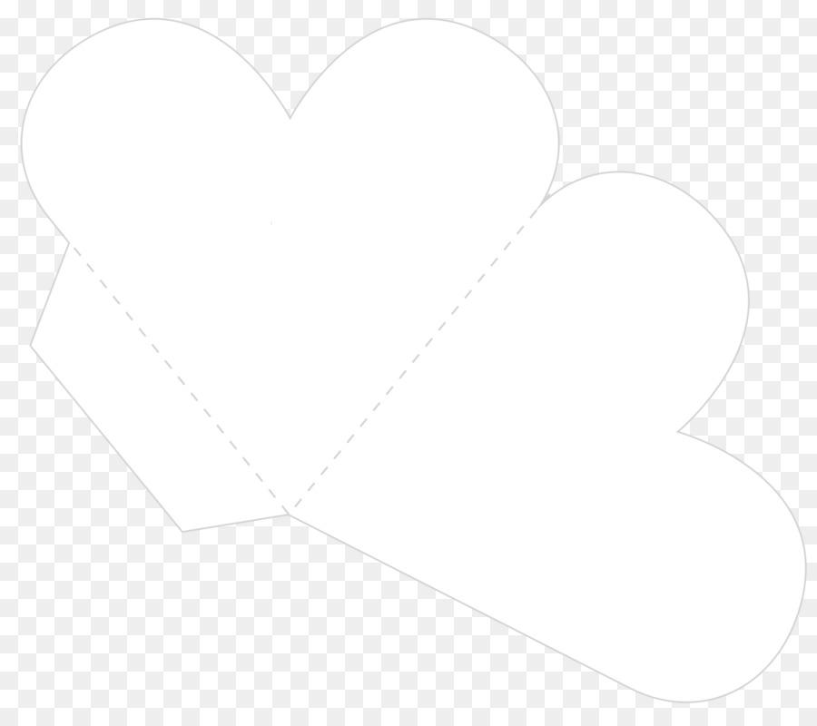 Heart Line Angle Font Pattern
