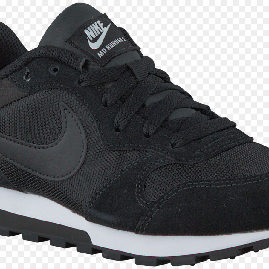 free shipping c619f 227a9 Sports shoes Zwarte Nike Sneakers MD RUNNER 2 WMNS White - nike png  download - 15001500 - Free Transparent Sports Shoes png Download.