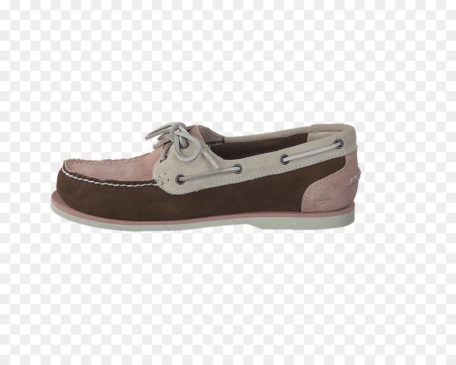 Gamuza Slip en los zapatos para Caminar - iluminado de color rosa ...