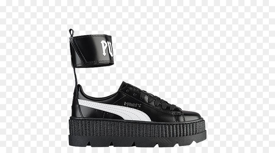 Creeper Bordell Crp Leder Schuhe Sportschuhe Cracked Puma Damen Weiß thxCBosQrd