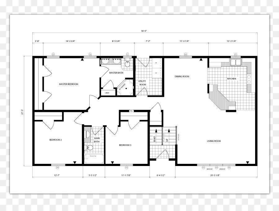 Haus planen, Ranch-Stil Haus Grundriss Quadratischer Fuß - Haus png ...