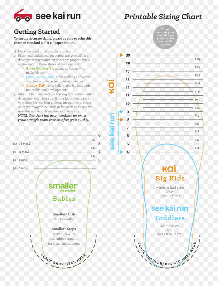 Shoe Size Infant Child Clothing Sizes Child Png Download 2550