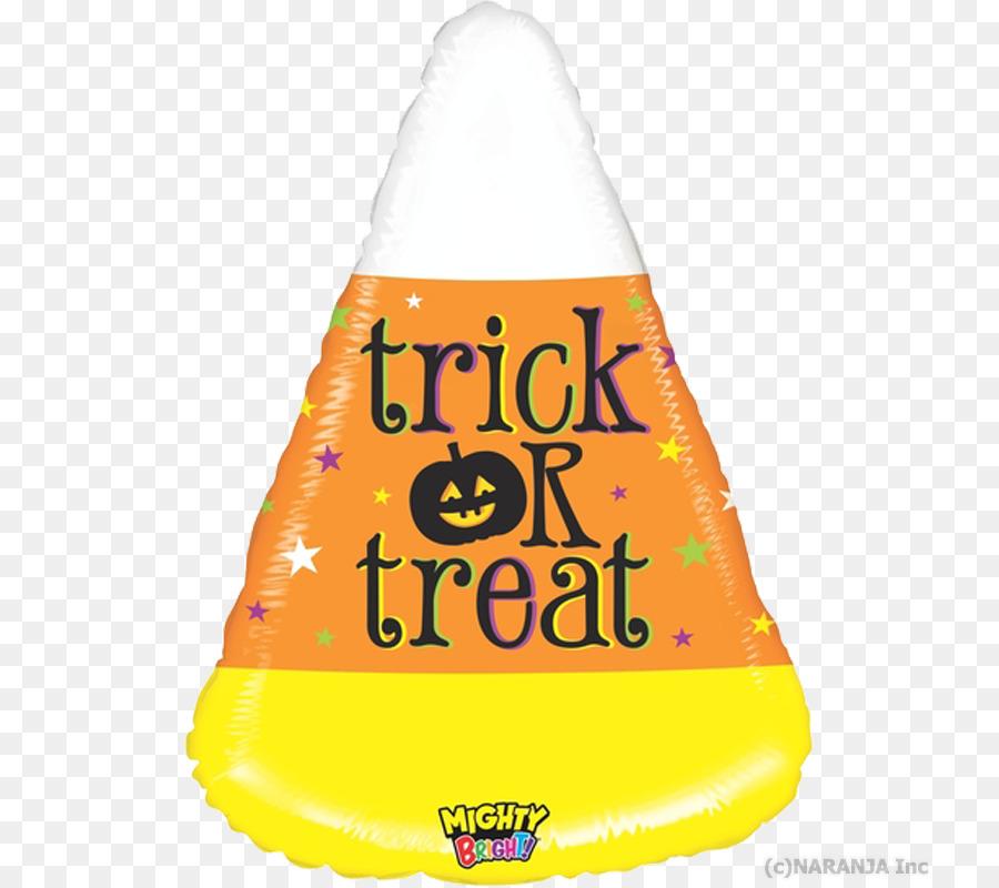29 Inch Halloween Trick Or Treat Permen Jagung Balon 5 Buah Kuning