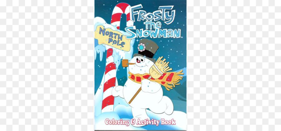 Libro para Colorear de navidad Frosty el muñeco de Nieve el Día de ...