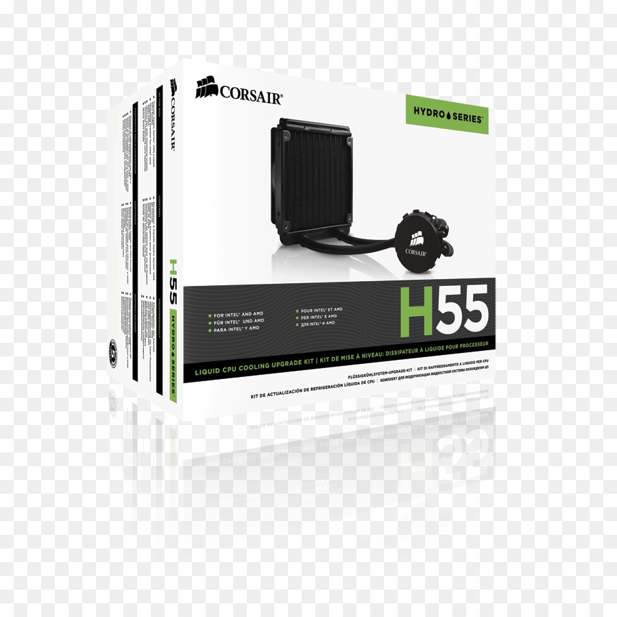 Corsair Hydro Series Cpu Cooler H55 Liquid H100i V2 Water Cw 9060010 Ww Computer System Cooling Parts Gtx