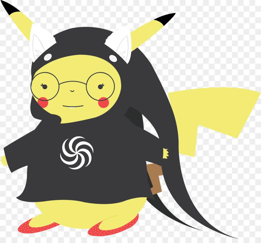 Klip Seni Ilustrasi Kartun Karakter Hewan Pikachu Teman Teman