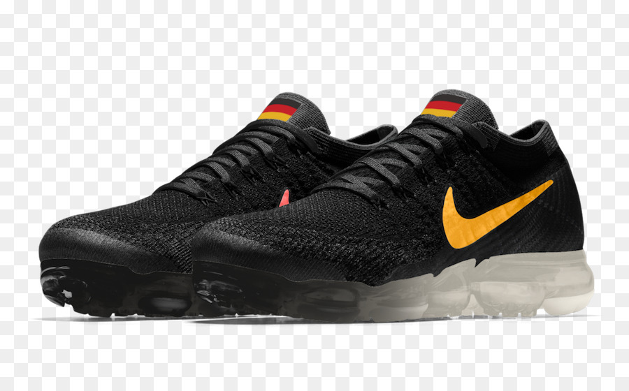 e321c21e0ff53 Nike Air Vapormax Flyknit Black  Black-Anthracite-White Sports shoes Nike  Air VaporMax Flyknit Men s Running Shoe - nike png download - 900 549 -  Free ...