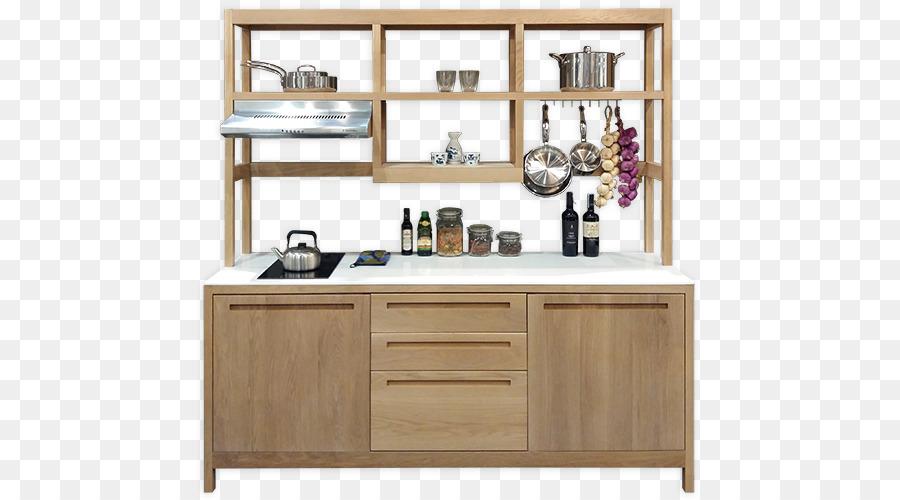 Regal Küche Schrank Tisch Möbel - Küche png herunterladen ...