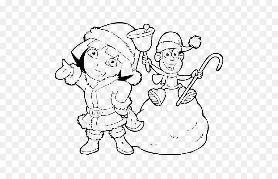 Páginas para colorear libro para Colorear de Navidad dibujos para ...