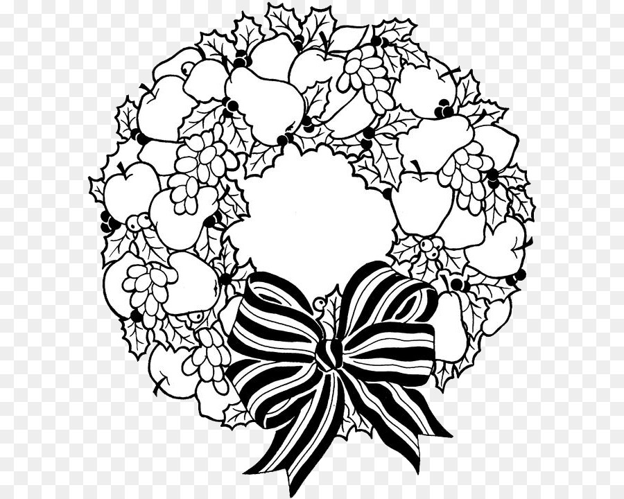 christmas wreaths coloring book christmas day christmas coloring pages child