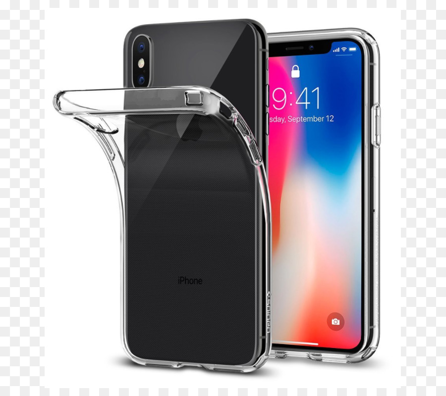 iphone x coque spigen transparent