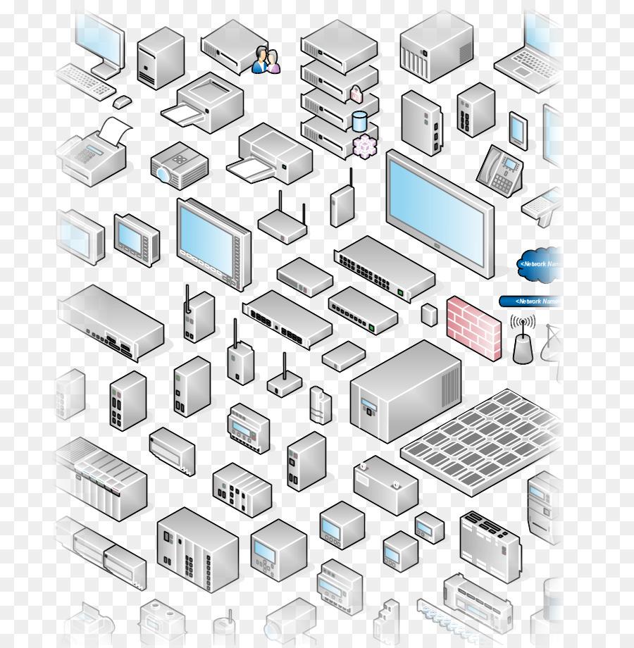 Jaringan Komputer Diagram Microsoft Powerpoint Wiring Simbol