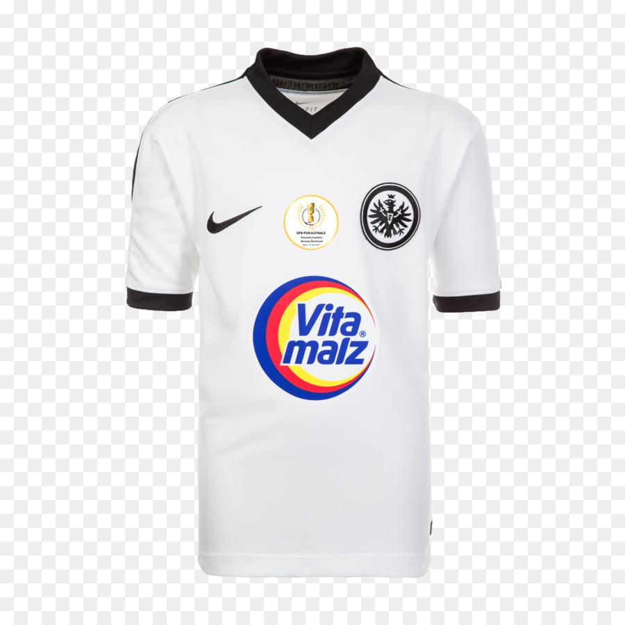 Sport Fan Jersey T Shirt Eintracht Frankfurt Logo Sleeve Lionel