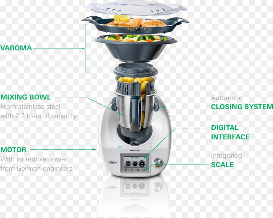 Bimby robot da cucina elettrodomestici Vorwerk Cottura - cucina ...
