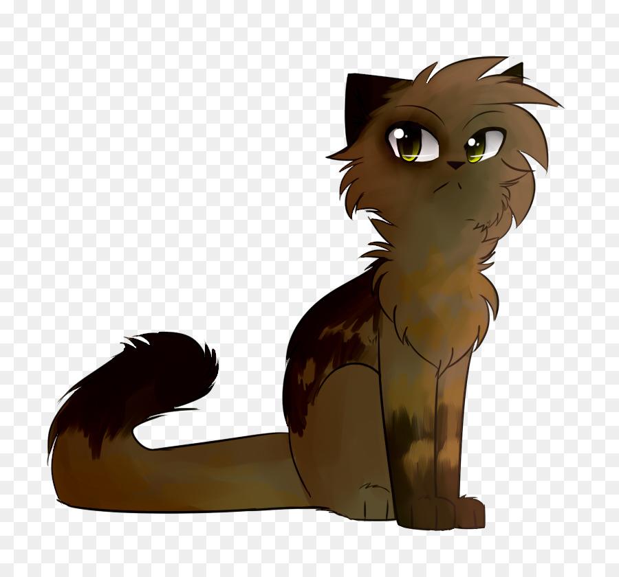 Gattino baffi di gatto cavallo cartone animato uccello ombra