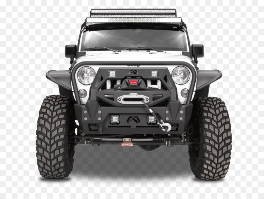 Motor Vehicle Tires Jeep Wrangler Car Bumper   Jeep