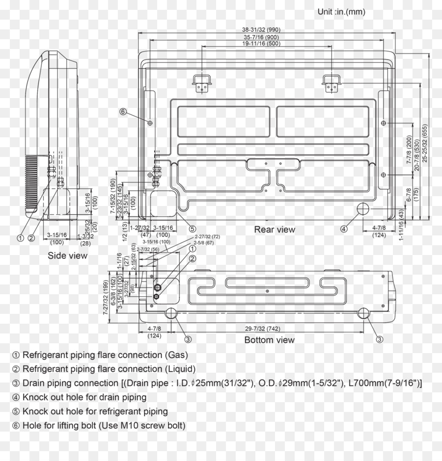 Technical Drawing Product Design Engineering Drain Pipe Piping Line Diagram