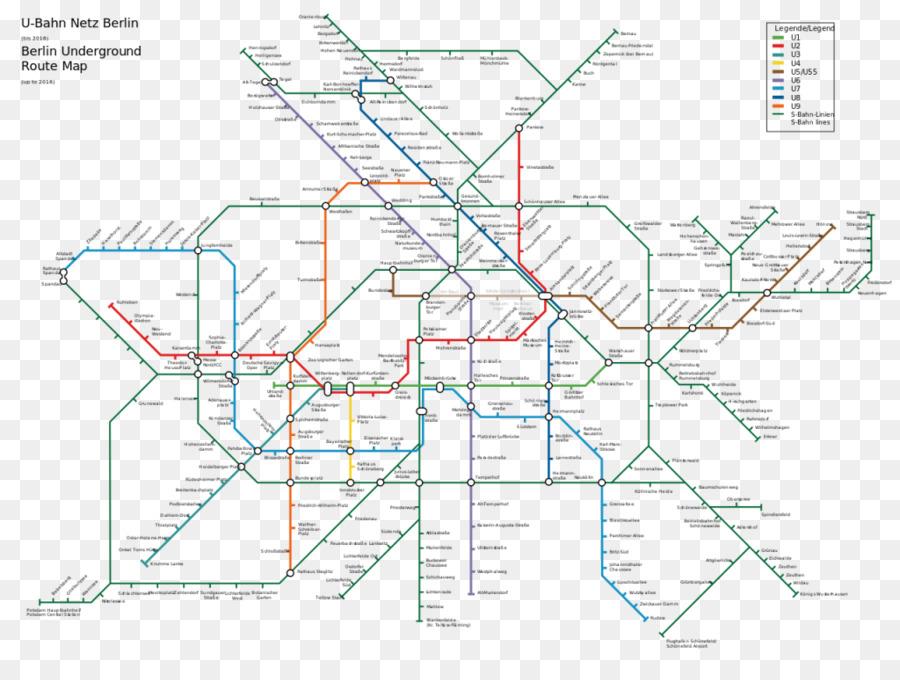Berlin S Bahn Rapid Transit Berlin U Bahn Map Rail Transport Map