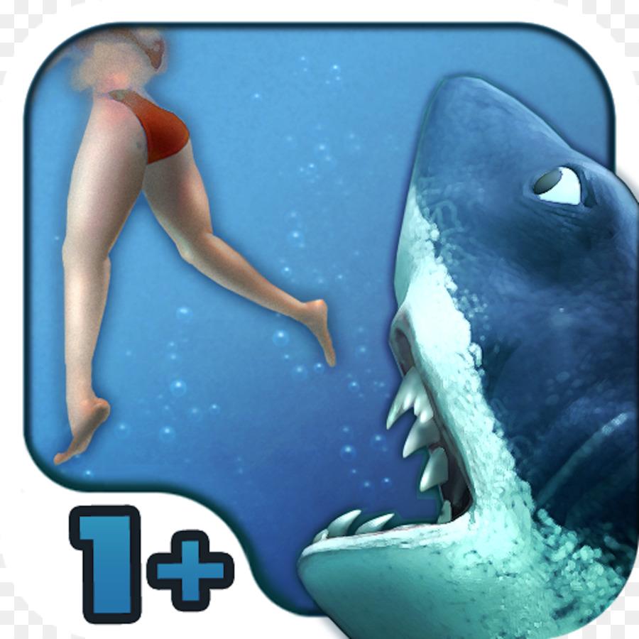 Cartoon Shark png download - 1024*1024 - Free Transparent
