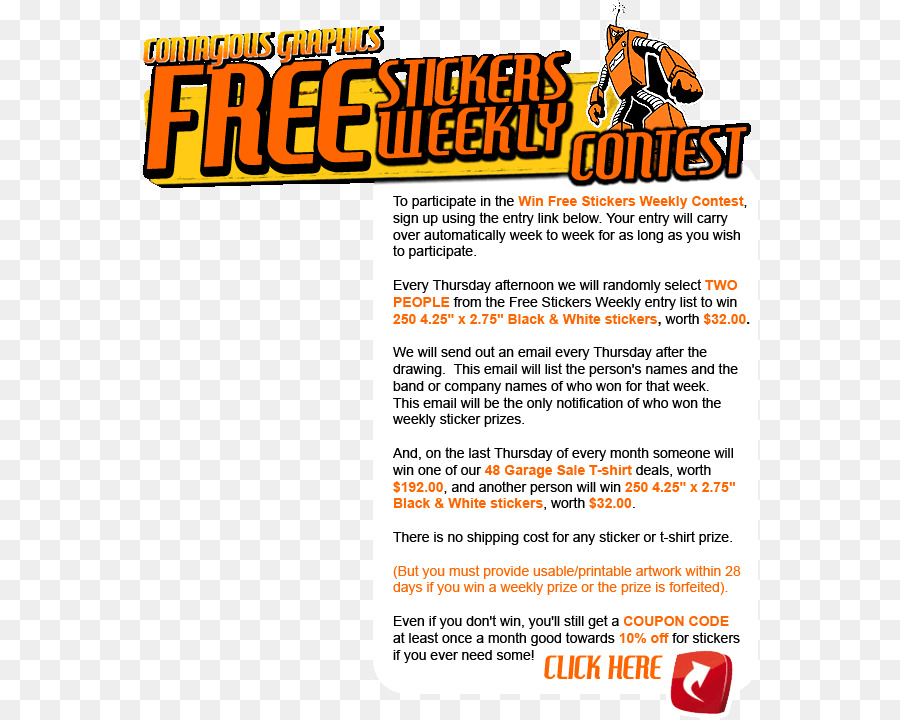 Contest Announcement Banners png download - 616*719 - Free
