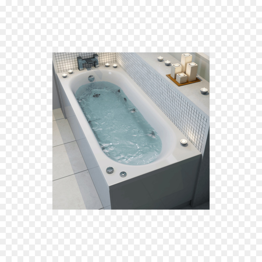 Baths Hot tub Bathroom Shower Ceramica Double Ended Curved Bath ...