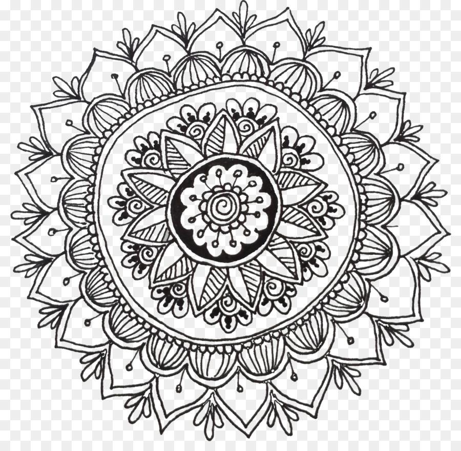 The Mandala Coloring Book: Inspire Creativity, Reduce Stress, and ...